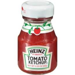 Ketchup, Glass Bottle Mini