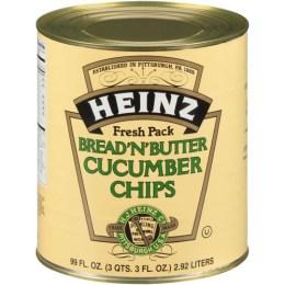 "Pickles, Sliced ""Bread & Butter"""