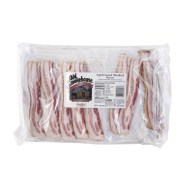 Old Smokehouse Applewood 13/17 Layflat Bacon