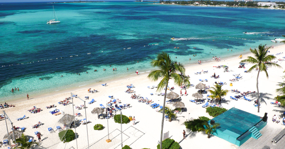 Things to do in Nassau Bahamas, cable beach with many high end resorts. Explore New Providence Island on a Bahamas Island Hopping tour with Bahamas Air Tours. ©Bahamas Ministry Of Tourism