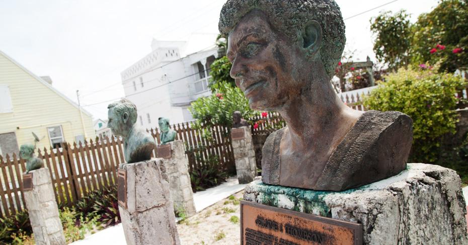 Memorial Sculpture Garden, Green Turtle Cay Bahamas. Fly To Green Turtle  Cay With Bahamas