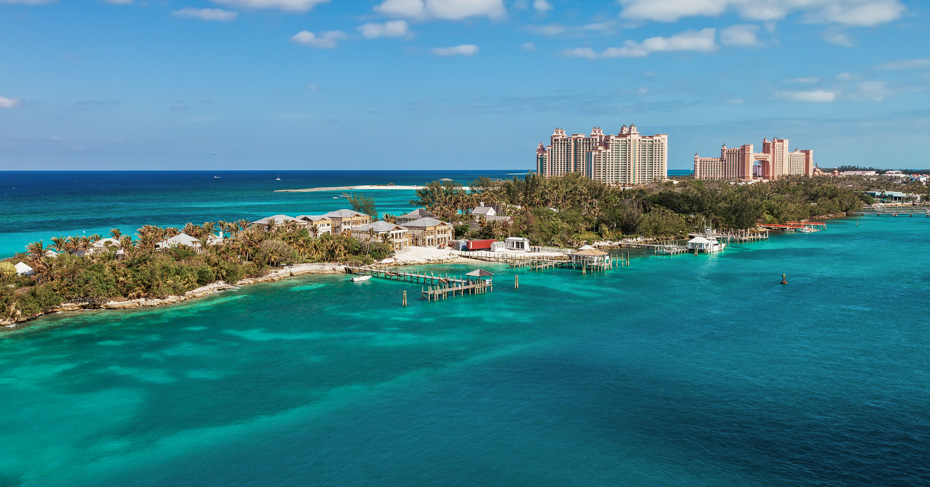 Things to do in Nassau Bahamas, Long stretch of Paradise Island, located in Nassau, Bahamas