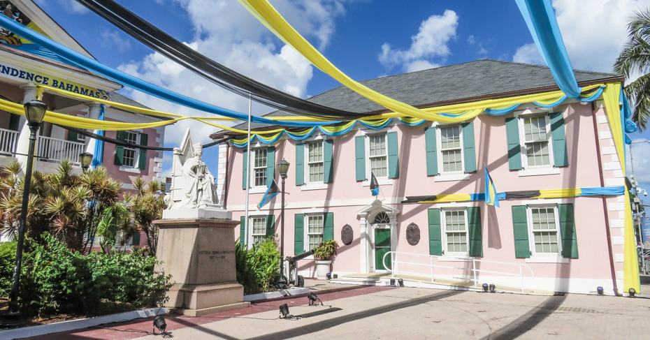 Things to do in Nassau Bahamas, Parliament Square. Visit Nassau on a Bahamas Island Hopping Tour with Bahamas Air Tours