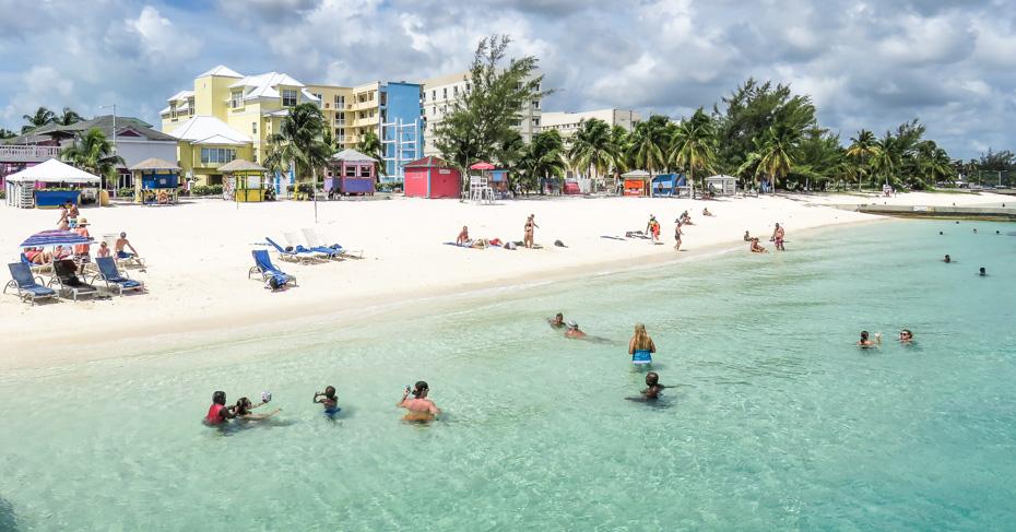 Things to do in Nassau Cruise Port at Junkanoo Beach Bahamas. Take a Bahamas Tour from Florida with Bahamas Air Tours. Things to do in Nassau cruise port.