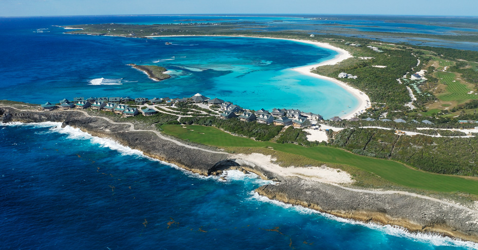 Abaco Bahamas, Winding Bay Abaco. Visit the Abaacos on a Bahamas Island Hopping tour with Bahamas Air Tours