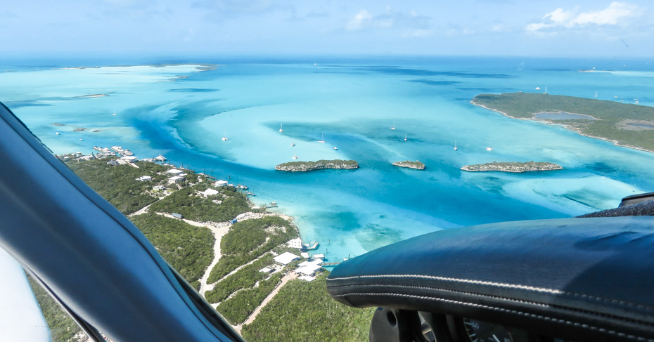 Bahamas Charter flights from Fort Lauderdale to Bahamas with Bahamas Air Tours .Flying into Staniel Cay Airport in the Exuma Cays