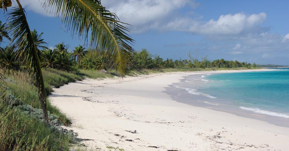 Eleuthera Bahamas beaches. Flights to North Eleuthera with Bahamas Air Tours