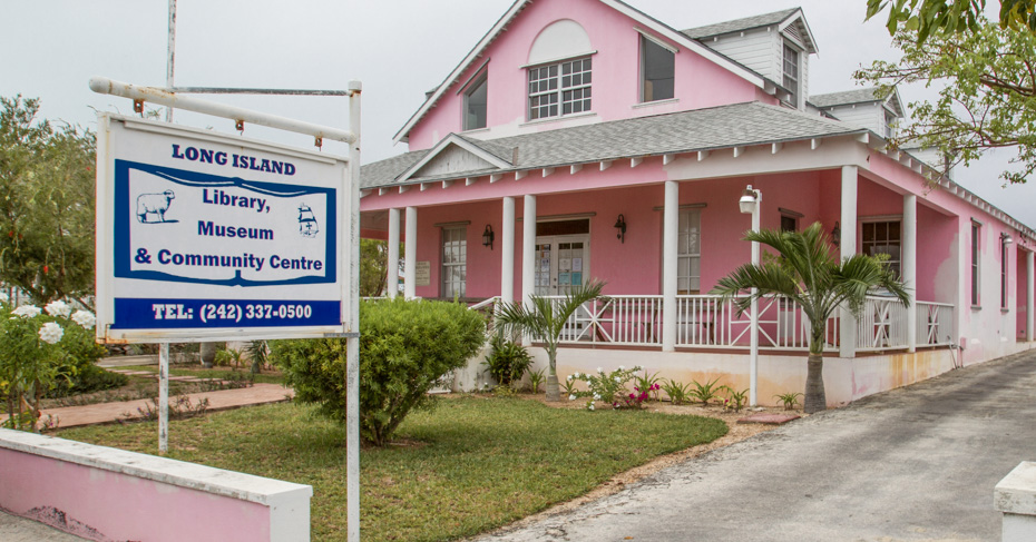 Long Island Bahamas museum. Fly from Florida to Bahamas with Bahamas Air Tours on a private Bahamas air charter.