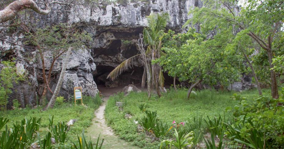 Miami to Eleuthera flights with Bahamas Air Tours. Discover the Preachers Cave on Eleuthera Island.