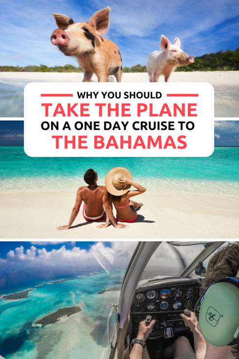 Take a one day cruise to Bahamas by Plane, not Boat! Discover why flying to the Bahamas on a day trip to Bahamas is the best way to get the most out of your Bahamas Vacation or Bahamas honeymoon. The unique one day Bahamas cruise, or day trips to Bahamas from Miami are available from Bahamas Air Tours based in Florida. See the very best things to do in Bahamas on your Bahamas Day Trip!