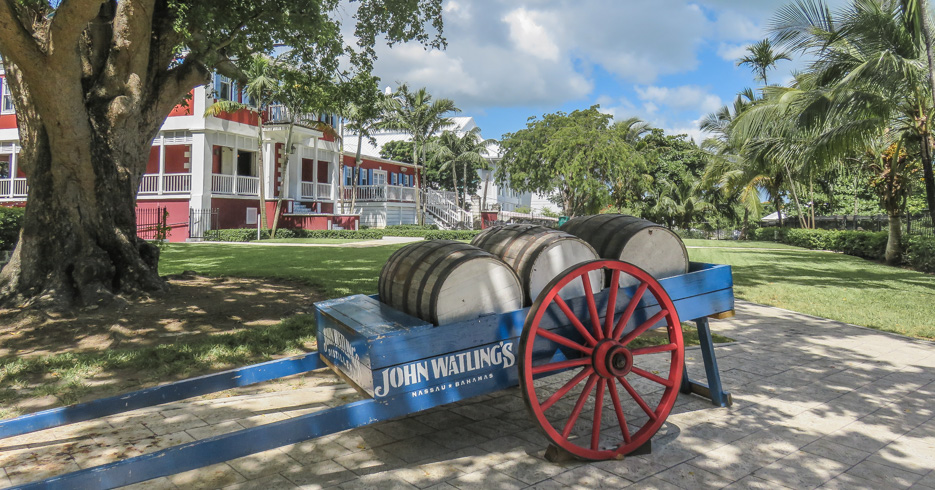 Nassau Rum Tour Bahamas is one of the top things to do in nassau Bahamas. Explore the John Watling's distilleary