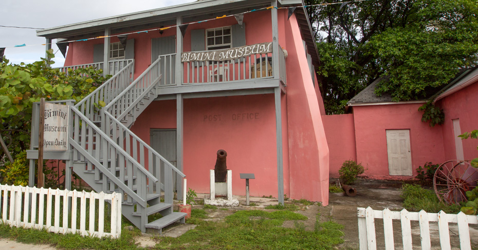 The Bimini Museum; visit on a one day cruise to bimini or take flights to bimini with bahamas charter flights from Bahamas Air Tours.