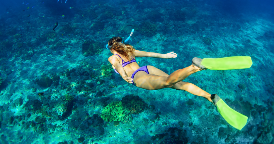 Bahamas Snorkeling on a Bahamas Day Trip and Bahamas Island Hopping Tour with Bahamas Air Tours