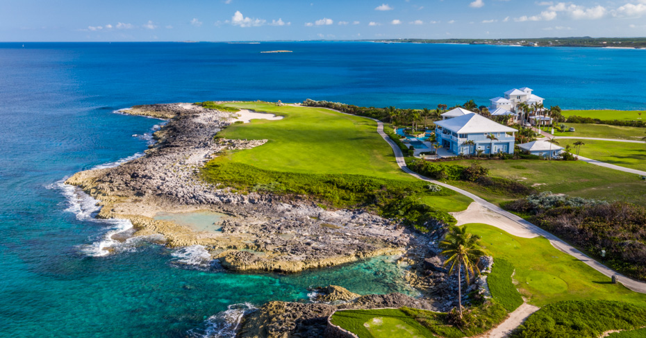 Bahamas Golfing Emerald Bay golf course on Great Exuma in the Bahamas Islands. Discover the best Golf in Bahamas on Exuma, Abaco, Nassau and Freeport.