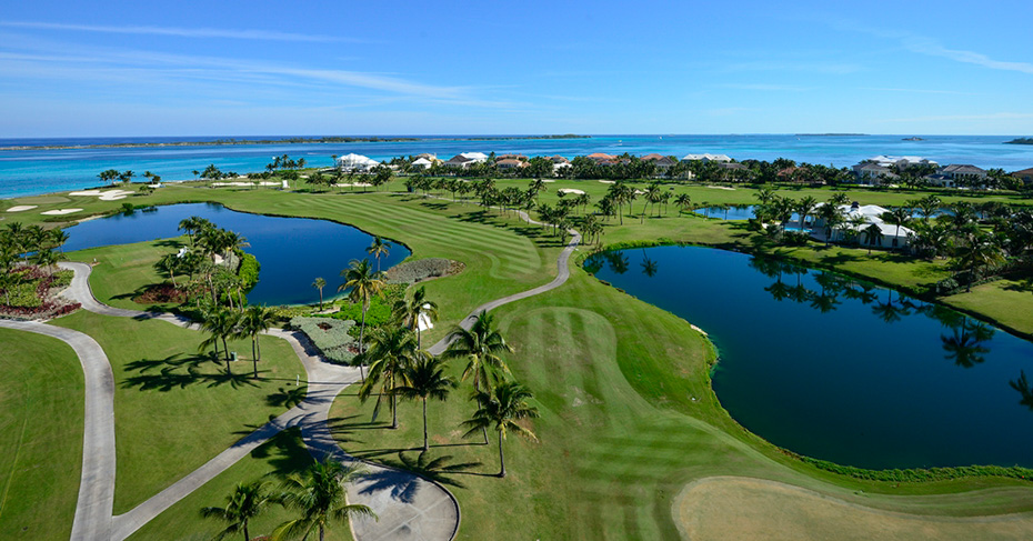 Golfing Nassau Bahamas, the 2014 LPGA Tournament in Nassau. Best golf courses in Bahamas include Sandals Emerald Bay Golf and Nassau Golf.
