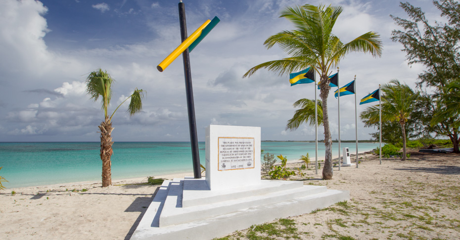 christopher columbus first landed in the new world in 1492, on San Salvador Island in the Bahamas. Discover the unique Christoper Columbus history on a Bahamas Tour with Bahamas Air Tours