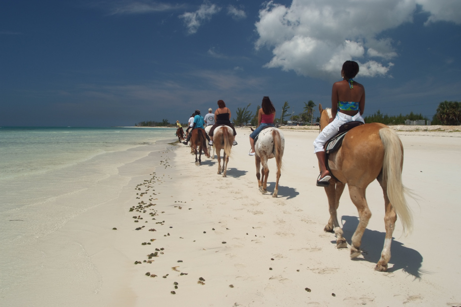Day trip Bahamas horseback riding in Nassau. Horseback Riding Bahamas is one of the top Bahamas activities