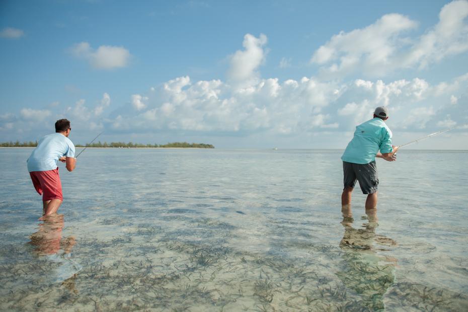 Bonefish Fly FIshing Charters in the Bahamas Islands