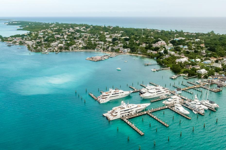 Harbour island Bahamas dunmore town.
