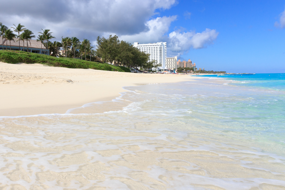 Paradise Island Bahamas Cabbage Beach is the best beach on Paradise Island Nassau.