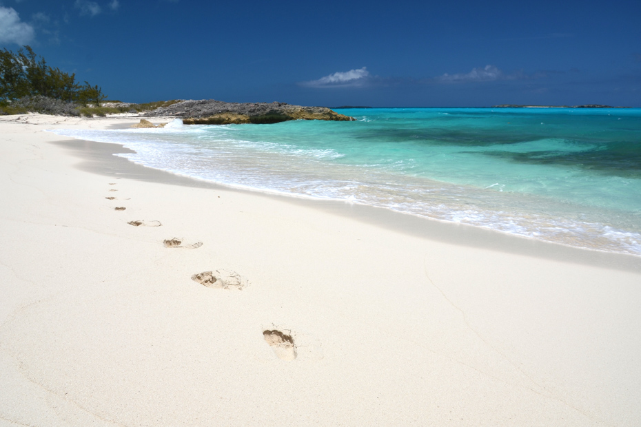 Things to do in Exuma: Visit Little Exuma and the famous Tropic of Cancer Beach.