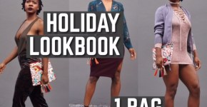 Holiday LookBook, 1 Bag 3 Outfits