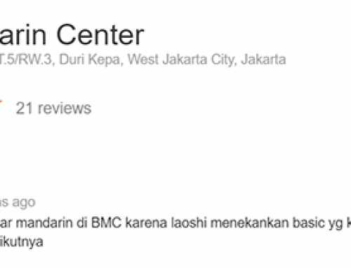 Review Bahasa Mandarin Center