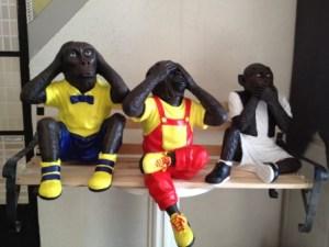Üç Maymun Heykelleri