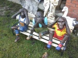 Üç Maymun Maketi