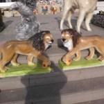 Yatan Aslan Figürleri