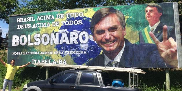 Rafael Freitas, é um dos participantes e mobilizador do grupo que apoia Bolsonaro. (Foto: Reprodução/Facebook)