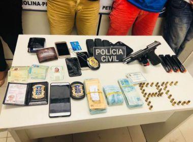 Com ajuda de policial da Bahia, mulher forja próprio sequestro e acaba presa