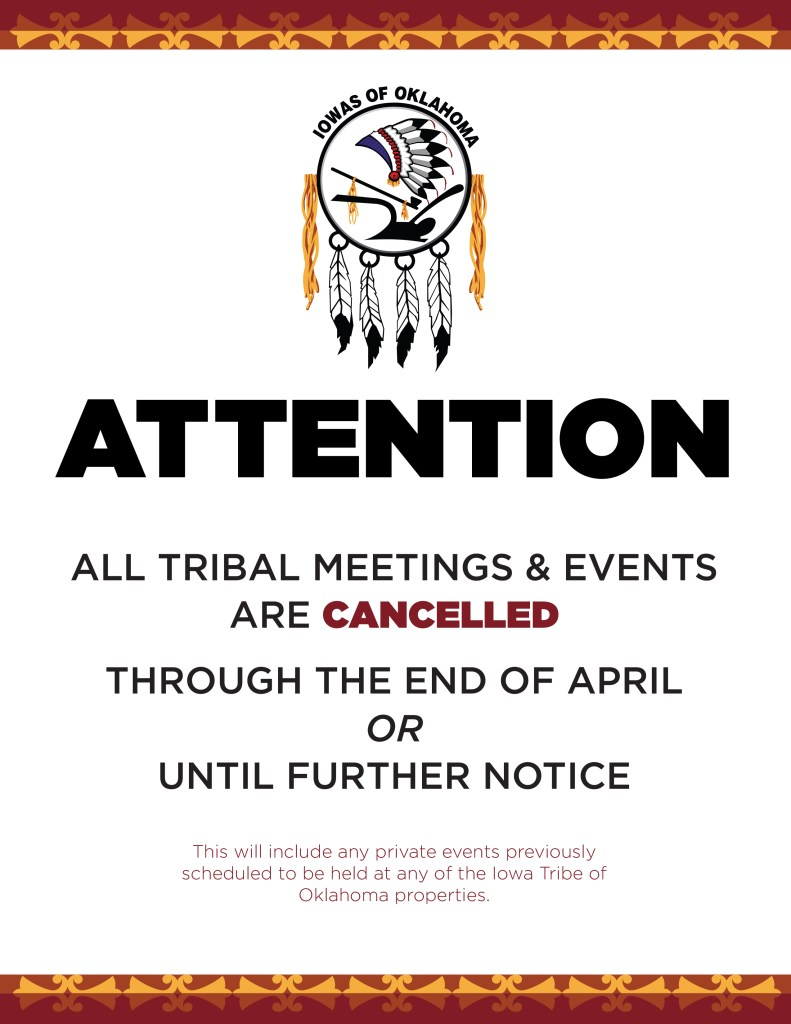 ITO Events Cancelled 03172020