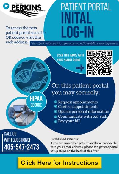 2021 Patient PORTAL FLYER website