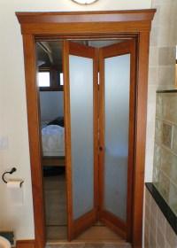 Bathroom Door Hits Toilet, need a solution