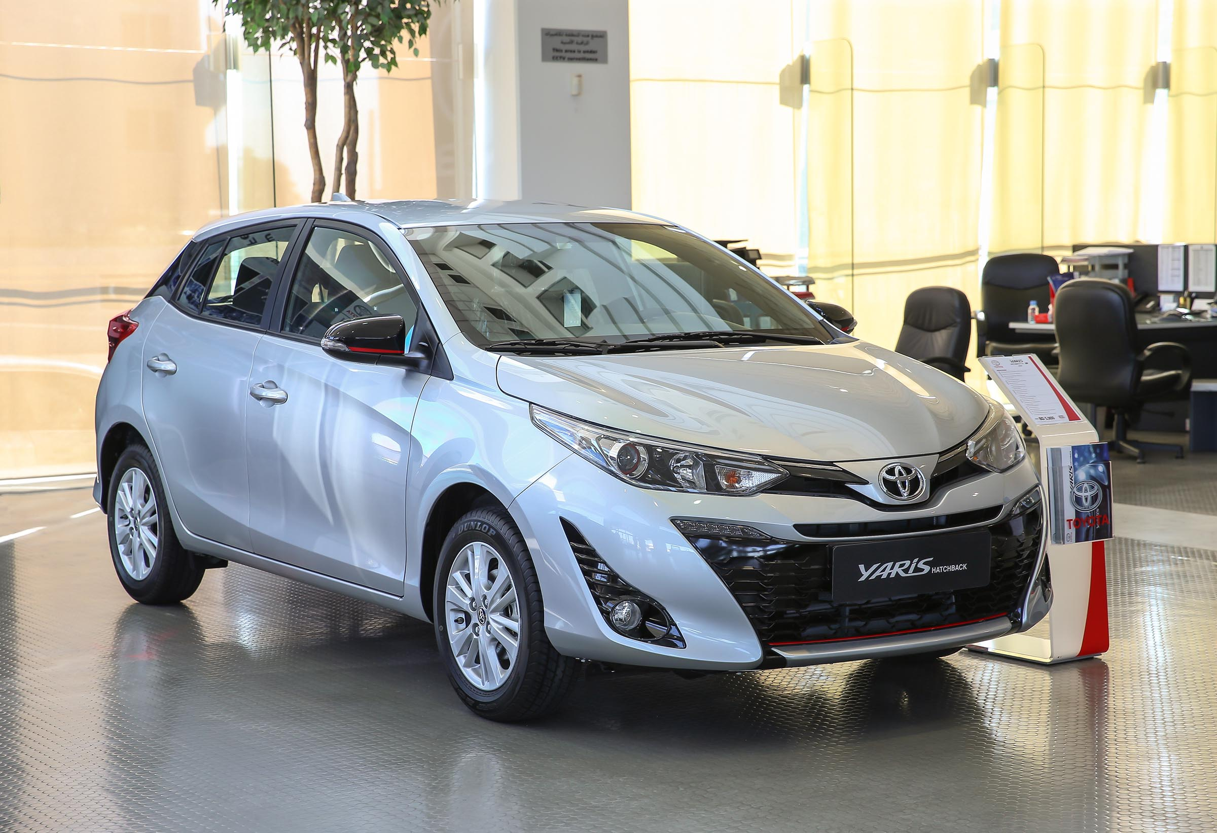 interior new yaris trd 2018 agya 1.2 m/t toyota hatchback launched in bahrain