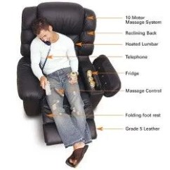 Lazy Boy Massage Chair Beach With Face Hole The Ultimate La Z Recliner Leather Arm