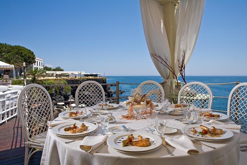 Ristoranti Catania  Grand Hotel Baia Verde Acicastello