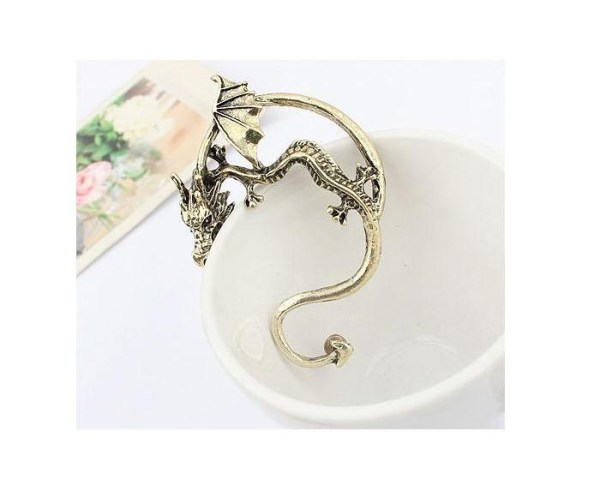 Gothic Style Dragon Shape Earring 3