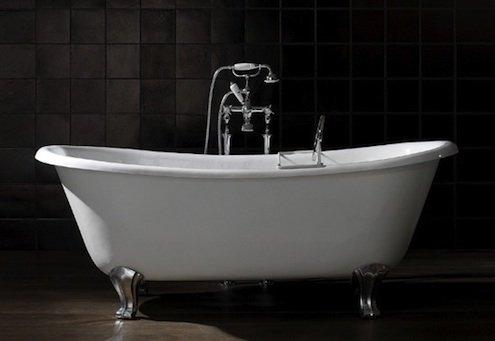 decoupe de baignoire en fonte