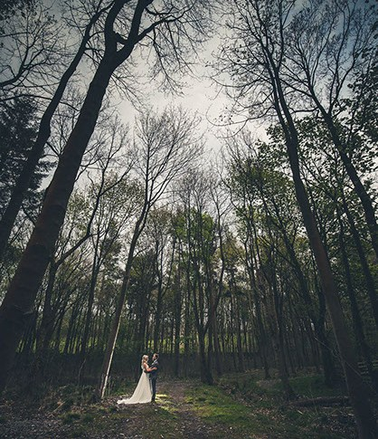 Broughton Hall estate wedding photographer