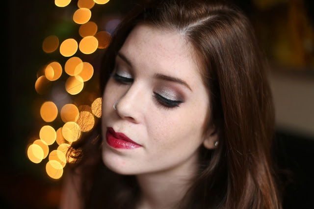 NEW YEAR'S EVE MAKEUP LOOK
