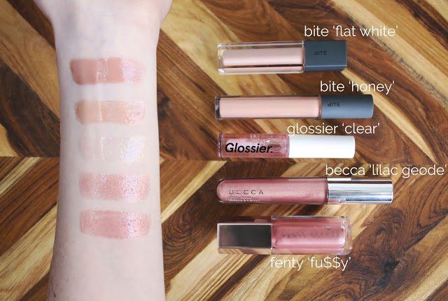 MY GO-TO LIP GLOSSES