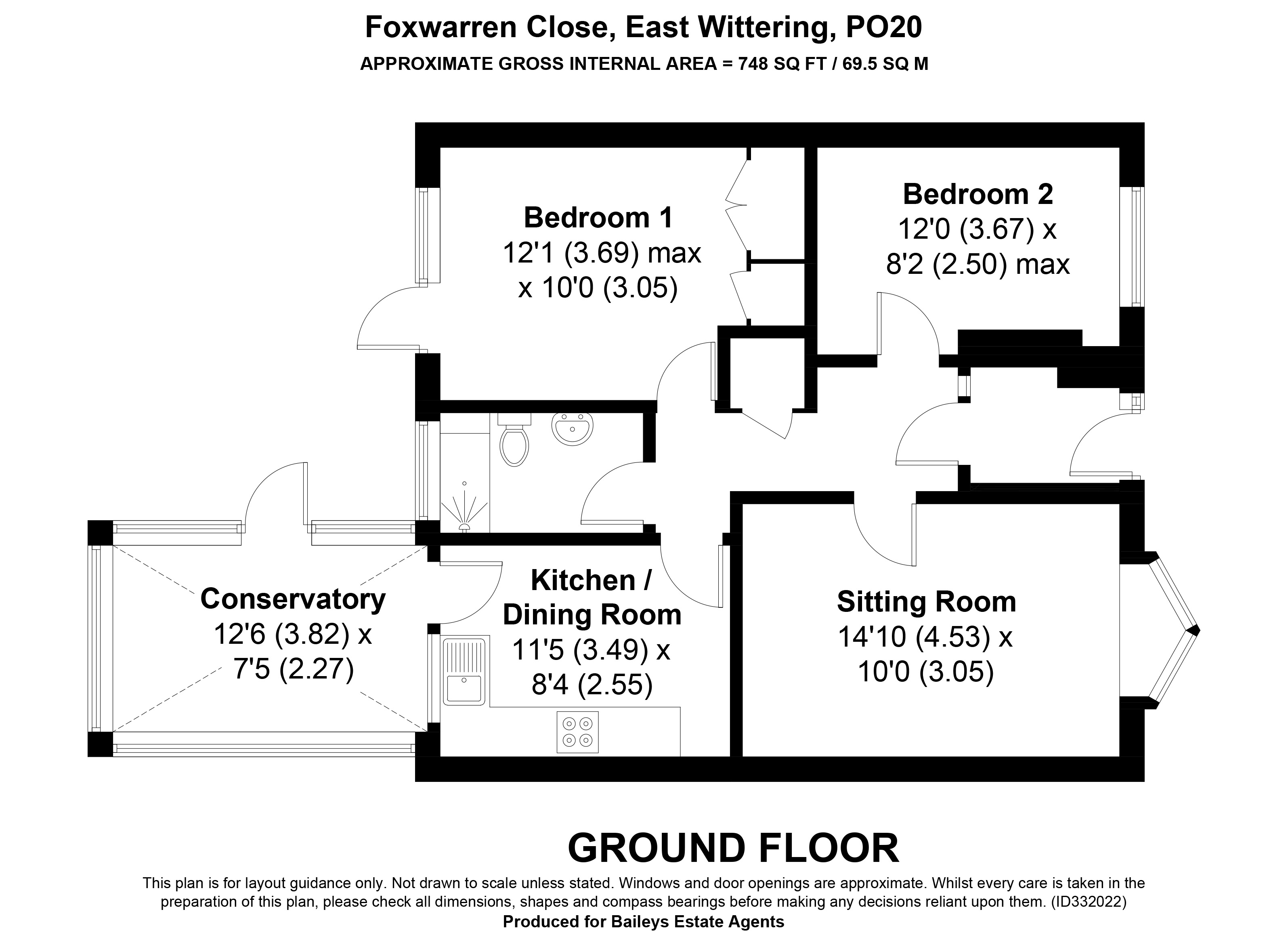 Property for Sale, East Wittering: 7 Foxwarren Close