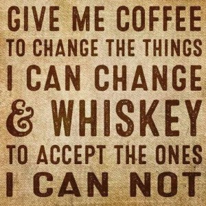 Coffee and Whiskey for Change