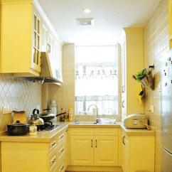 Complete Kitchen Barn Sinks For 小户型厨房橱柜搭配赏析达成完整的厨房功能 完整的厨房