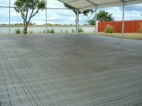 Plastic flooring