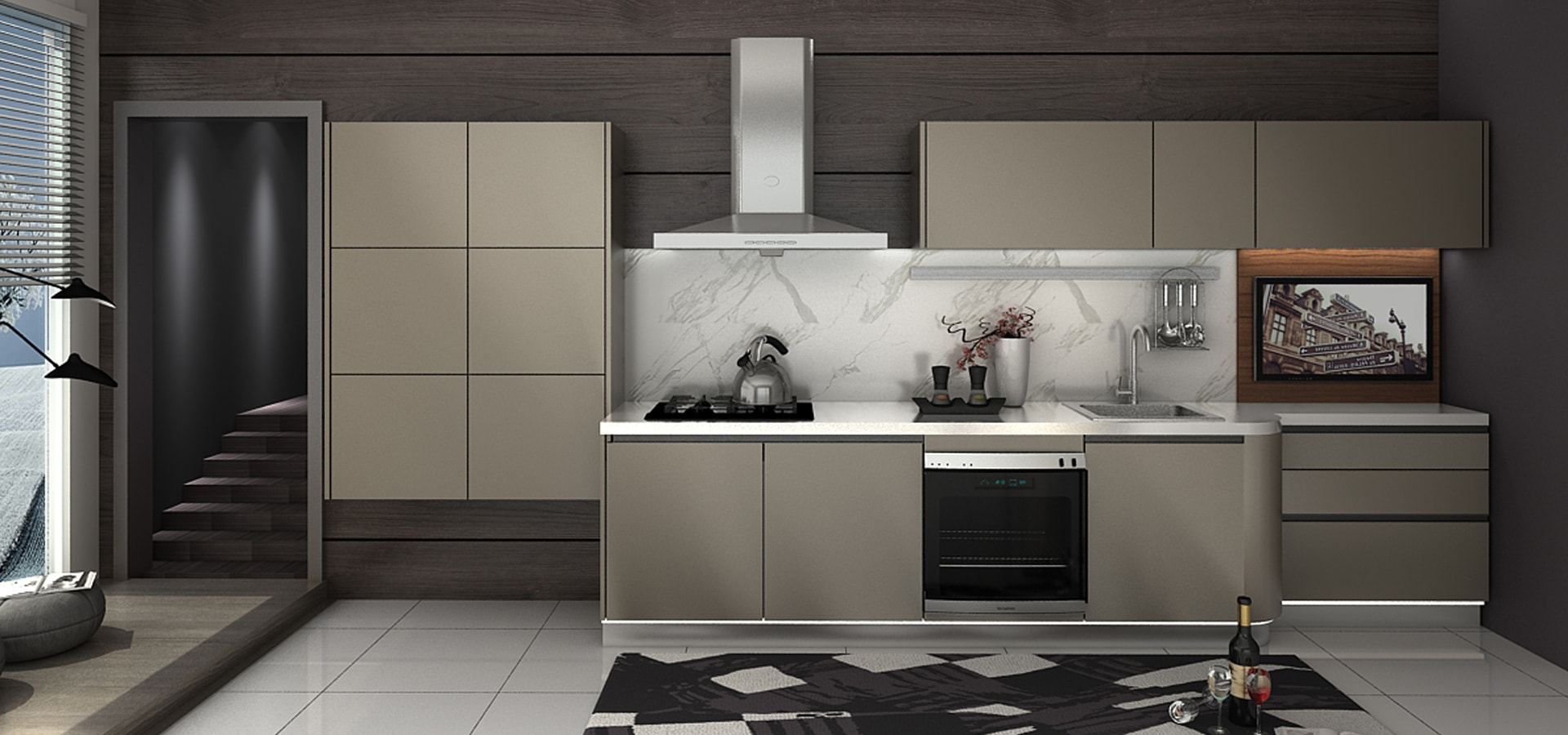 Stainless Steel Kitchen Cabinets Custom Kitchen Cupboards