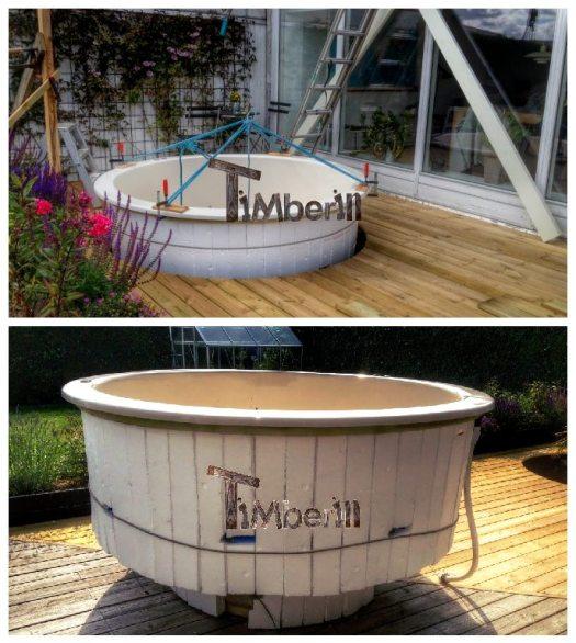 Exemples D'installation De Hot Tub Modèle De Terrasse (4)