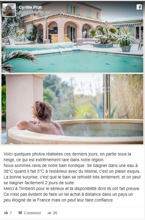 Bain Nordique En France Cyrille Prat